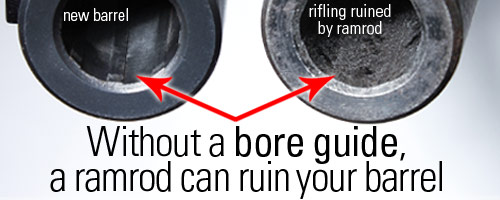 bore guide can save your rifle from damage from your ramrod