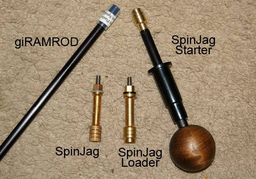 SpinJag Tools - SpinJag, SpinJag Starter, SpinJag Loader and giRAMROD